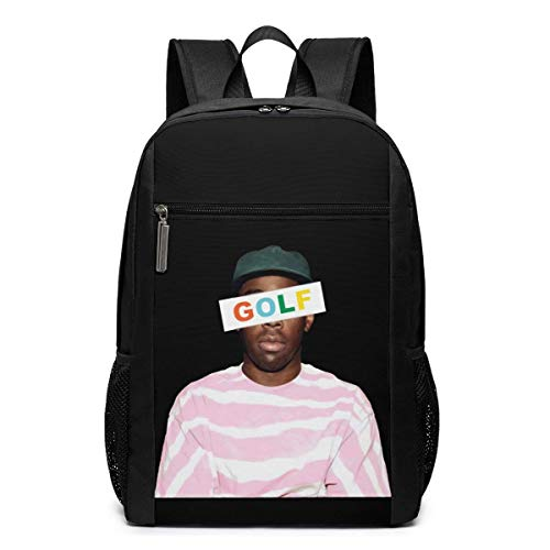 Lawenp Tyler The Creator Golf Wang Rap Backpack 17 Inch Laptop Bags College School Backpack Casual Daypack for Travel