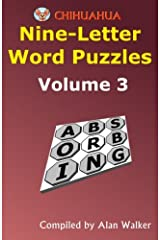 Chihuahua Nine-Letter Word Puzzles Volume 3 Paperback