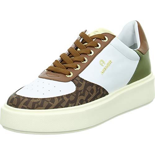 Aigner Sneaker Low Größe 42 EU Weiß (Weiß)