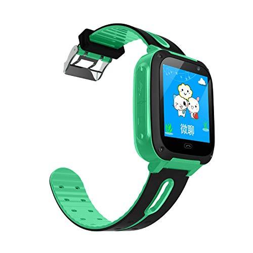 Kinder Smart Watch Wasserdicht Smart Kinder Uhr Kamera Uhr Grün
