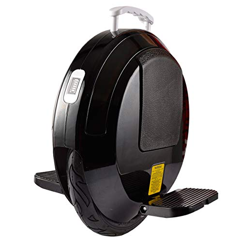 DingD Elektro-Scooter Auto-Gleichgewicht Hoverboard Elektro-Scooter Smart-Skateboard Selbst Gleichgewicht Roller Bluetooth-Lautsprecher-LED Hoverboard 14 Zoll,Schwarz