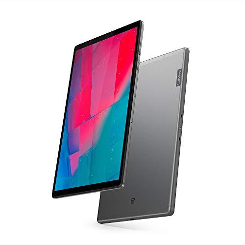 Lenovo Tab M10 Plus Tablet, Display 10.3 Full HD, MediaTek Helio P22T Prozessor, 128GB Speicher, erweiterbar bis zu 256 GB, 4 GB RAM, WLAN + Bluetooth 5.0, 4G LTE, 2 Speaker, Android Pie, Iron Grey