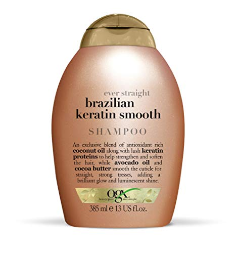 OGX Brazilian Keratin Therapy Shampoo, 1er Pack (1 x 385 ml)