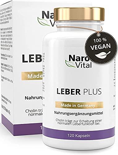 Mariendistel - 80% Silymarin, Artischocken, Löwenzahn, Curcuma, Desmodium - Mit Cholin für die Leber - 120 Kapseln - Vegan - Milk thistle - hochdosierter 8-fach Komplex