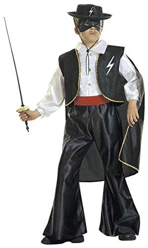 Widmann - Bandito blind kostuum, in maat 5/7 jaar