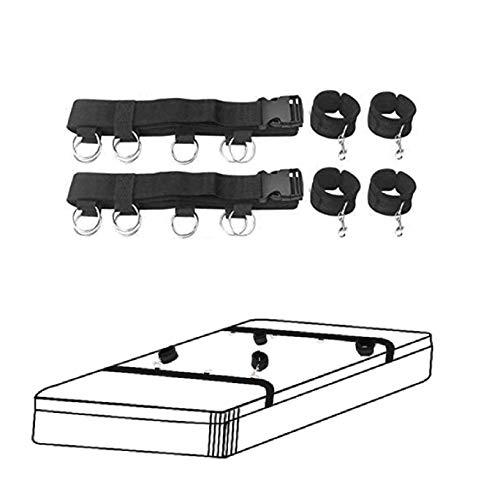 BĎŚṂ Aḍült Śẹx̲ ṫọys Bǿňdâgé Set Kit for Coùples with Adjustable Strὰps Toy Durable Home Indoor Sports Training Aid Tools Set for Men and Women Sprẹạd̲ẹr Bar