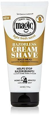 Razorless Shaving Cream for
