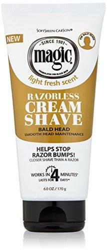 Softsheen-Carson Magic Razorless Shaving Cream for Men, Hair Removal Cream,...