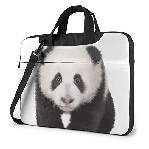 Pandas Bolsa para portátil Bolsa de Mensajero Maletín Bolso Bandolera Bandolera Bolsa de Trabajo