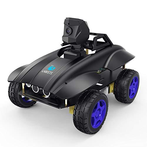 LABISTS Smart Robot, Raspberry Pi Smart Car Kit für Raspberry Pi 4 Model B 3B+ 3B, Roboter Bausatz mit WiFi/Bluetooth Steuerung, 720P Kamera, Android und iOS Robot kit