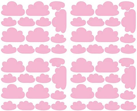 56 Pieces Set Cloud Wall Decal Vinyl Sticker Nursery Kids Child Boys Girls Room Decor Nursery product image