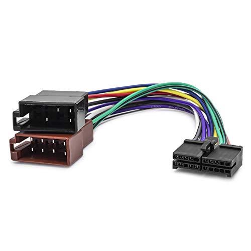 KFZ Auto Radio Kabel 16Pin DIN ISO Buchse für Clatronic AEG Prology AudioVox