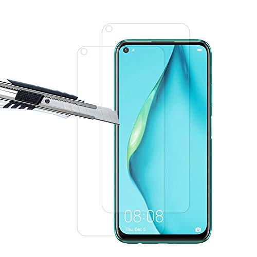 THILIVE (2 Stück Huawei P40 Lite Panzerglas, Bildschirmschutzfolie panzerfolie, Folie gehärtetem Glas,9H Festigkeit,Kratzfest,Glasfolie Glas Schutzfolie für Huawei P40 Lite-klare