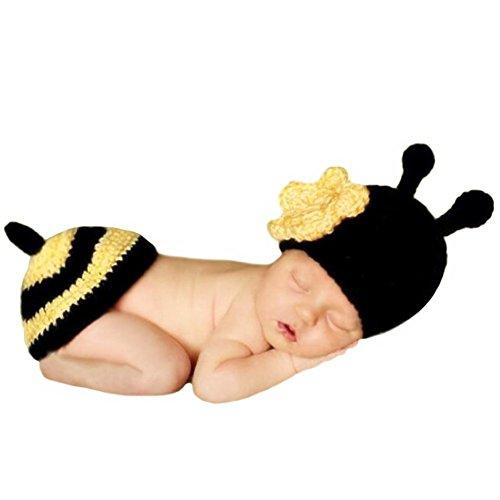 Gris conejo, recién nacido bebé niña/niño ganchillo Costume Foto Fotografía Prop sombreros...