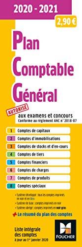 Plan comptable général - PCG - 2020-2021