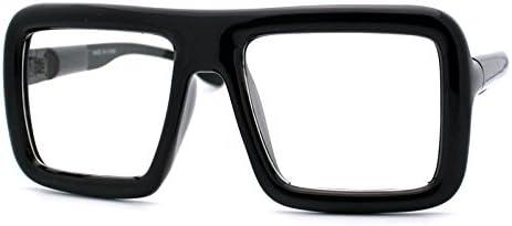 Mens oversized eyeglasses