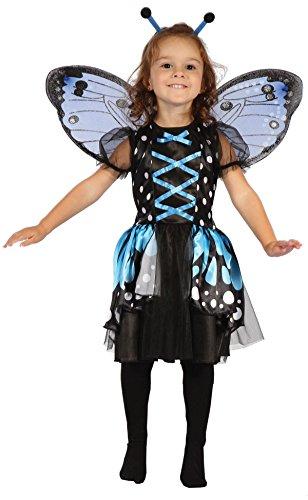P'tit Clown - 92416 - Costume d'enfant Papillon - 92/104 cm - 2/3 Ans