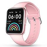 CatShin Smartwatch Orologio Fitness Tracker IP70 Impermeabile Bluetooth Donna Uomo Cardiofrequenzimetro da Polso Pedometro Smart Watch Touch Activity Tracker Contapassi per Android iOS