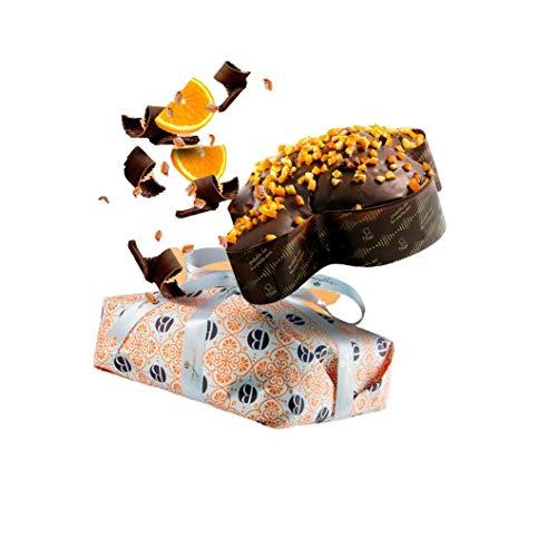 Bonfissuto Taube Handwerk Orange und Schokolade Natürliche Gießen, 1 kg