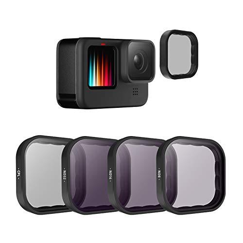 TELESIN 4-Pack Lens Filter CPL ND8...