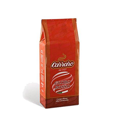 Carraro Globo Rosso Espresso 1kg Bohne