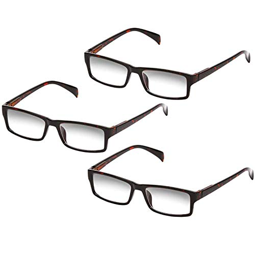 One Power Glasses Readers Flex Auto Focus Reading Glasses Optic Eye Glasses for Adults Automatically Adjustable Glasses to The Right Focus for Your Eyes Magnifying Readers .5X - 2.5X,Tortoise