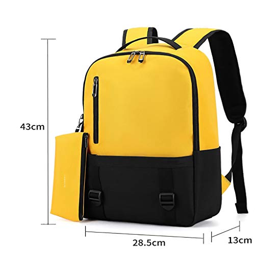 Laptop backpack Backpacks, school bags for boys and girls, simple leisure computer backpacks, lightweight waterproof backpacks, leisure large-capacity travel bags, laptop backpacks, unisex student bac