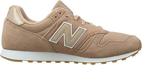 New Balance Damen 373 Sneaker, Pink (Pink Sand/White Psw), 39 EU