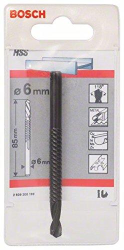 Bosch Professional Fräsbohrer HSS mit Feinhieb (Ø 6 mm)