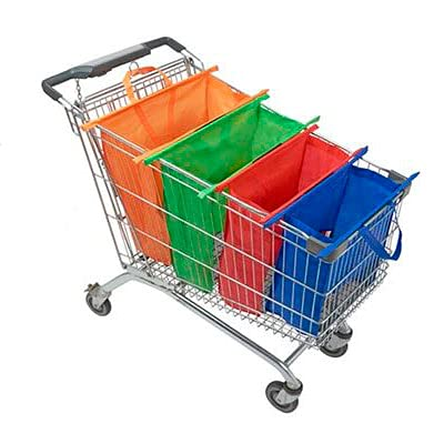 Smarketbag, bolsas de super, reutilizables y ecológicas. Kit de 4 bolsas para el supermercado.