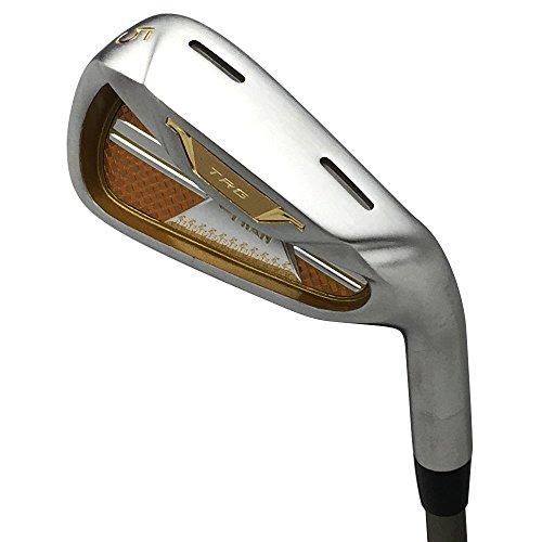 pron Japan Matrix Golfschläger aus Edelstahl und Eisen, Chrom-Finish, 19 Modell, Regular Flex, Graphitschaft, Grip Mid, Rechtshänder, Nr. 6