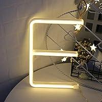 ネオン文字ライトアルファベットランプ装飾電池またはUSB作動バーサイン壁の装飾