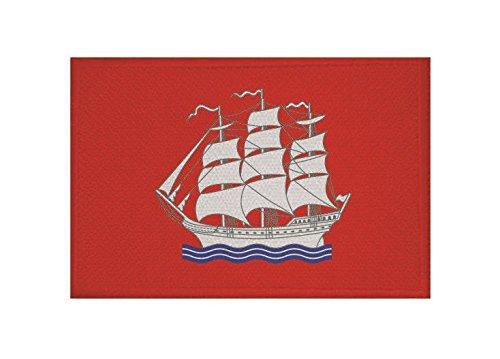 U24 Aufnäher Elmshorn Fahne Flagge Aufbügler Patch 9 x 6 cm