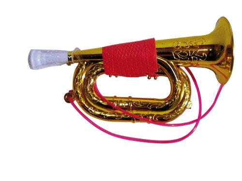 Loisirs Distribution - Trompette Dorée Gm 21 Cm