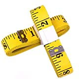 Best Body Tape Measures - Classic Yellow Sewing Tailor 3 Meters Double-Scale 120 Review