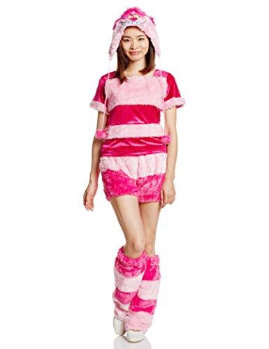 Alice MOKOMOKO Cheshire Cat kostuum dames van Disney wonder 155cm-165cm 95.274