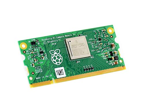 Waveshare Compute Module 3+/8GB CM3+/8GB Raspberry Pi 3 Model B+ BCM2837 Processor and 1GB RAM in a Flexible Form Factor with 8GB eMMC Flash