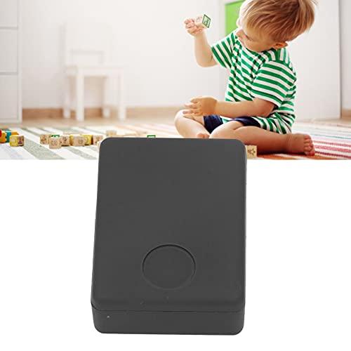 minifinker Alarma Anti-perdida para niños Mayores, Seguimiento de localizador GPS de Larga Espera AC20-220V Plástico Superior Preciso y rápido para la tutela de Seguridad