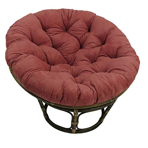 HAOCHI Round Papasan Chair Cushion,Waterproof Replacement Needles Solid Twill Papasan Hammock Chair Pads,Outdoor Patio