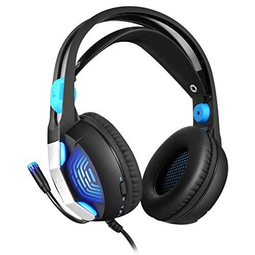 Auriculares Gaming PS4 PS4 con micrófono, Headset Estéreo con...