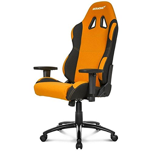 AKRacing Prime - AK-7018-BO - Silla Gaming, Color Negro/Naranja