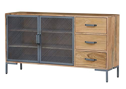 Main Möbel dressoir 145x80cm 'Chicago' acacia gelakt