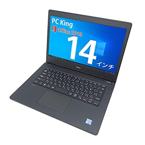 DELL 14インチ ノートパソコン Latitude 3480 第6世代 Core i3 メモリ:16GB SSD:256GB Windows 10 Office 2019 カメラ HDMI VGA USB3.0 Wi-Fi (整備済み品)