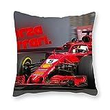 Sebastian Vettel - Almohada de cojín (40 x 40 cm), diseño de arte pop