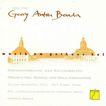 Benda: Orchesterwerke und Solokonzerte (Musik am Gothaer Hof)
