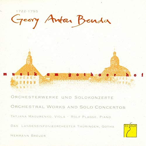 Thüringen Philharmonie Gotha, Hermann Breuer, Tatjana Masurenko & Rolf Plagge