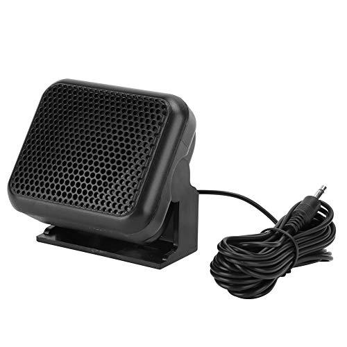 Demeras Altavoz Externo, NSP-100 Altavoz de Audio para automóvil Mini Altavoz de Radio móvil de tamaño pequeño para automóvil, camión, vehículo