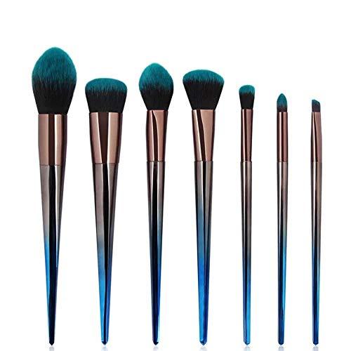 diamanstar Pinceau de Maquillage-Ensemble de pinceaux de Maquillage en Forme de Diamant, 7 pièces, Outils de beauté dégradés, Outils de beauté