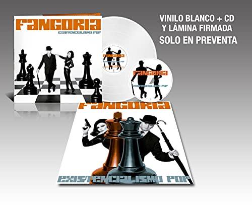 Fangoria - Existencialismo Pop (Vinilo Blanco + Cd + Lámina) Edición Firmada