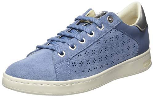 Geox Damen D Jaysen A Sneaker, Blau (Lt Blue C4003), 38 EU
